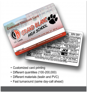 Fundraiser Cards